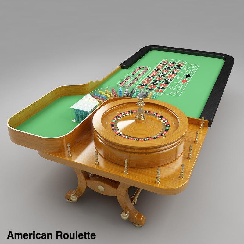 European roulette table vs american