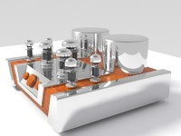 Vacuum tube amplifier 02