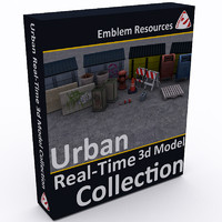 Urban Real-Time 3d Model Collection *SALE*