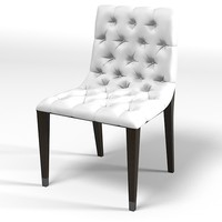 cliff young contemporarty tufted dining chair modern buttoned traditional