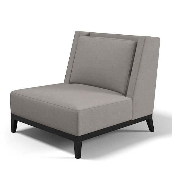 contemporary club chair armchair modern low.jpg