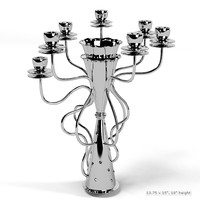 3d driade simon candleholder model