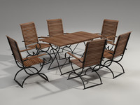 Garden Furniture Set - 6person