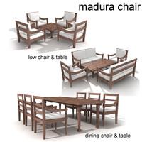 Madura teak chair