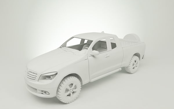 3d model sahara mercedes - mercedes sahara... by tudor2
