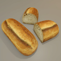 3d ottoman bread