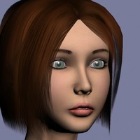 3d model alex realistic woman