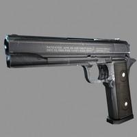 maya handgun gun