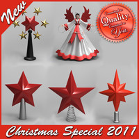 Christmas Tree Toppers (Special price)