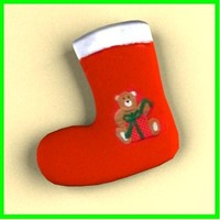 3ds max christmas sock