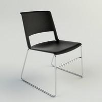 3d model chair - materials