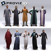 3D People: Arabic Vol. 01