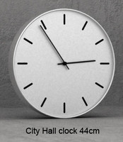 3d city hall clock 44cm model