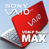 3ds max notebook sony vaio p-series