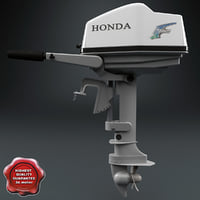 Outboard Engine Honda
