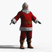 Santa low poly