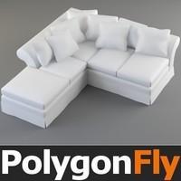 3d model sofa 24