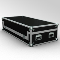 3d model flightcase case