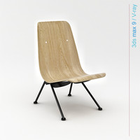 3ds max prouvé antony design chair