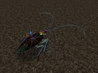 3d cockroach roach model