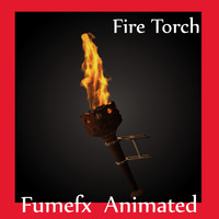 Fire Torch VFX Animated