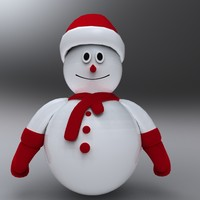snow man 3d 3ds