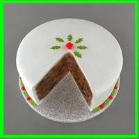 3ds christmas cake