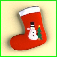 3d sock christmas