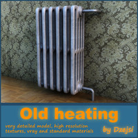 3ds max old heating