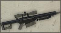 M82 Sniper Rifle 3D Model