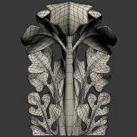 acanthus 3d model