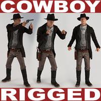 Cowboy Rigged