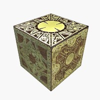 puzzle box hellraiser - 3d 3ds
