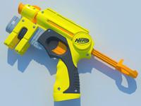 3ds max toy gun