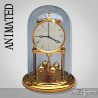 Table Clock 1 Animated