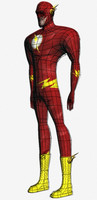 flash marvel comics 3d obj