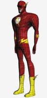 flash marvel comics 3d obj