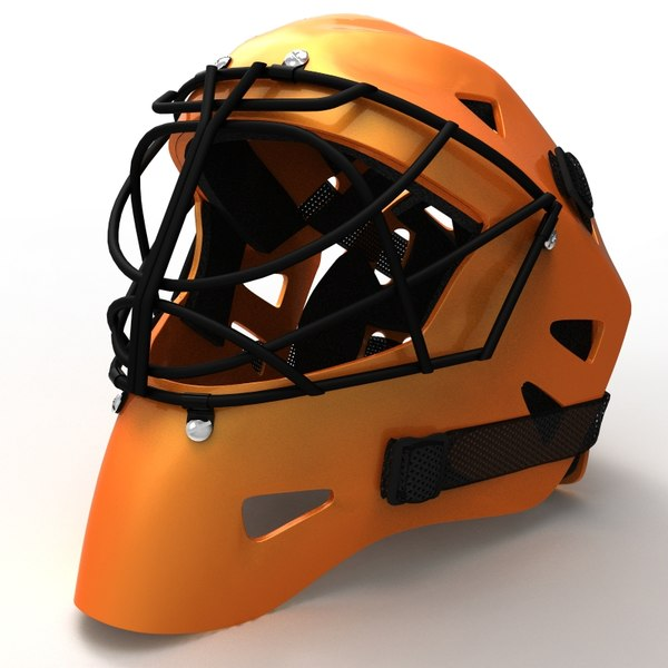 maya hockey helmet - Hockey Helmet... by jcuervo