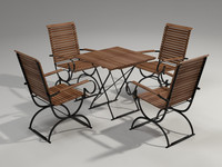 Garden furniture 4 Person Set