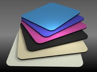 3d fabric mouse pads scene model