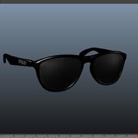 3d model frogskin black