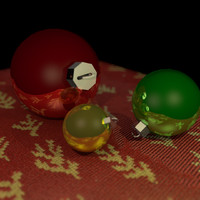 free 3ds mode christmas tree decoration
