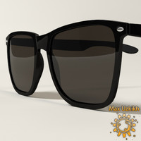 3d model sunglasses classic glasses