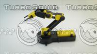 3d max robotic arm