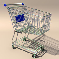 Shopping Trolley/Cart (stackable)