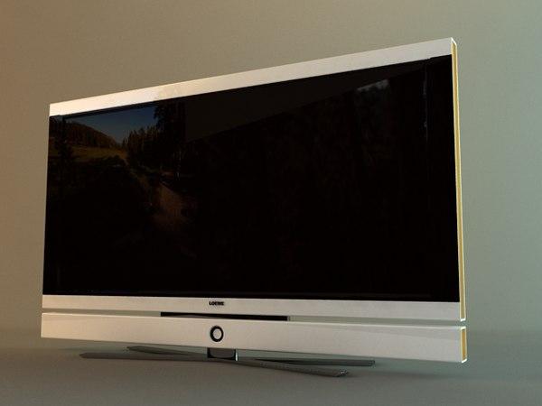 3d loewe tv. Black Bedroom Furniture Sets. Home Design Ideas