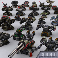 wargear turrets 0 3d 3ds