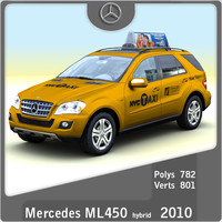 lightwave 2010 mercedes ml450 taxi