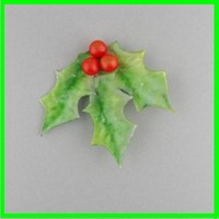 berry leaf holly 3d model