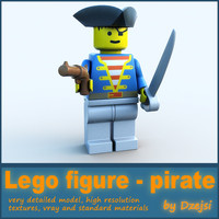lego character - pirate